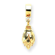 14K Gold Reflections Ash Dangle Bead