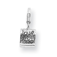 Sterling Silver Reflections Love Note Click-on For Bead