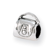 Sterling Silver Reflections Kids Handbag Bead