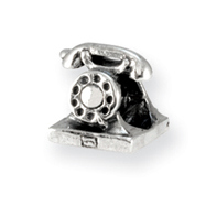 Sterling Silver Reflections Telephone Bead