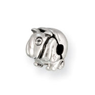Sterling Silver Reflections Kids Aardvark Clip Bead