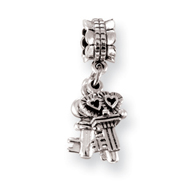 Sterling Silver Reflections Keys Dangle Bead