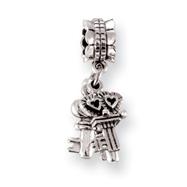 Sterling Silver Reflections Keys Dangle Bead