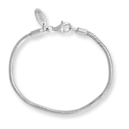 Sterling Silver Reflections Kids Lobster Bracelet
