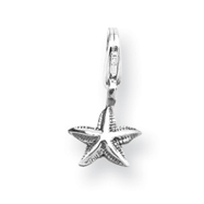 Sterling Silver Reflections Starfish Click-on For Bead