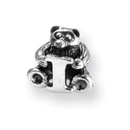 Sterling Silver Reflections Kids Letter I Bead