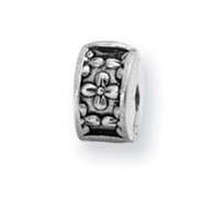 Sterling Silver Reflections Kids Floral Clip Bead