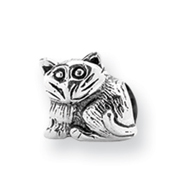 Sterling Silver Reflections Kids Kitten Bead