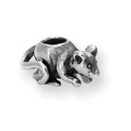 Sterling Silver Reflections Kids Mouse Bead