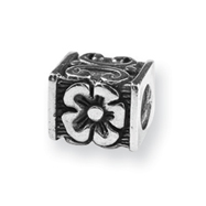 Sterling Silver Reflections Circus Train Bead