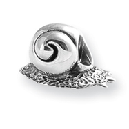 Sterling Silver Reflections SnailBead