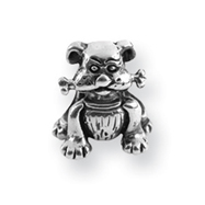 Sterling Silver Reflections Dog With Bone Bead