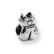 Sterling Silver Reflections Overalls Bead