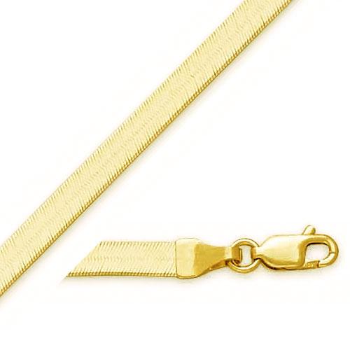 14K 4.0mm Herringbone Chain. Price: $433.04