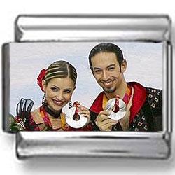 Tanith Belbin & Benjamin Agosto Olympic Photo Charm