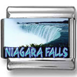 Niagara Falls Landmark Photo Charm
