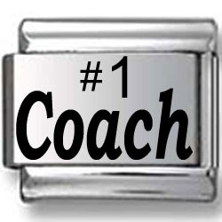#1 Coach Laser Charm
