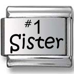 #1 Sister Laser Charm
