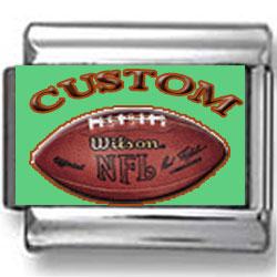 Custom NFL Football Charm