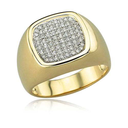 Diamond Men's Ring. Price: $1682.00