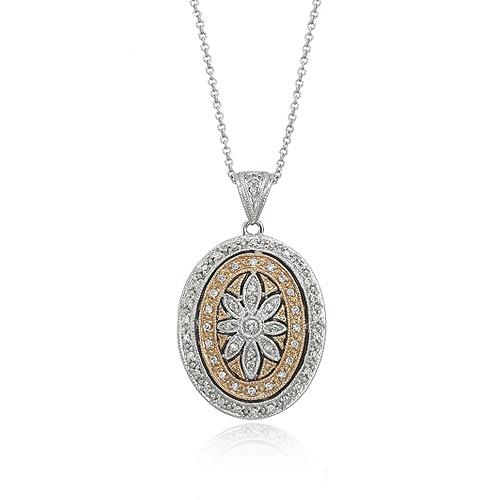 Diamond Pendant w/Chain. Price: $1382.00
