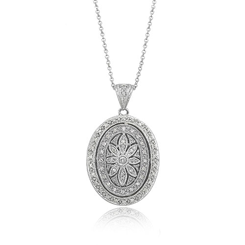 Diamond Pendant w/Chain. Price: $1478.00
