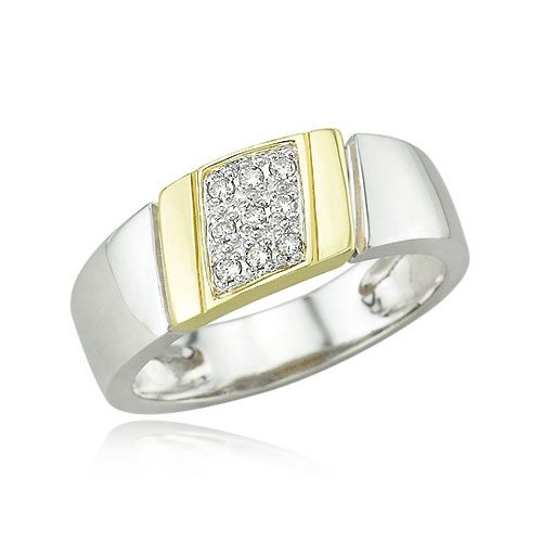 Men's Diamond Wedding Ring. Price: $834.00