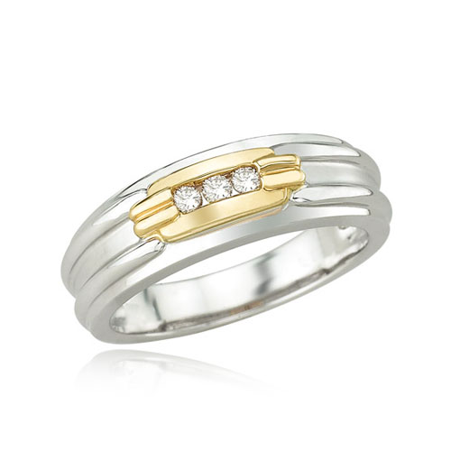 Men's Diamond Wedding Ring. Price: $1020.00