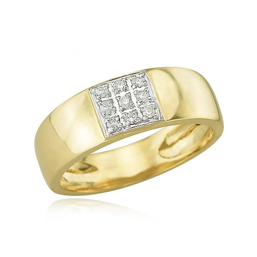 Men's Diamond Wedding Ring. Price: $1060.00