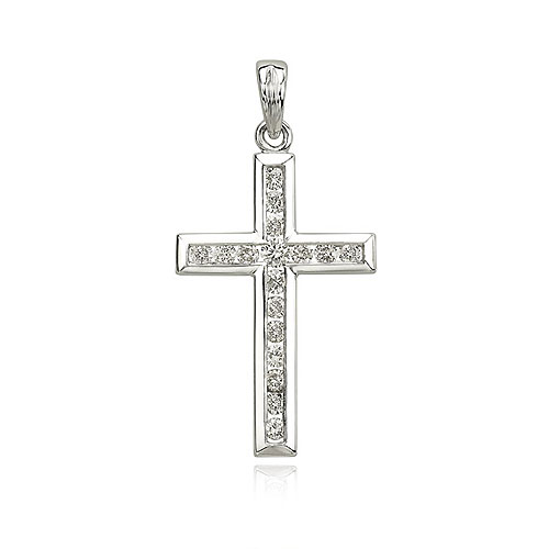 Diamond Cross Pendant. Price: $578.00