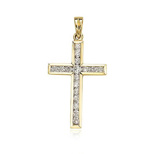 Diamond Cross Pendant. Price: $1014.00