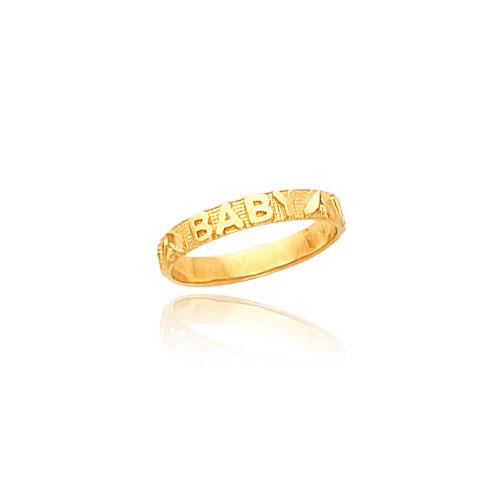 14K Gold Baby Baby Ring. Price: $99.96