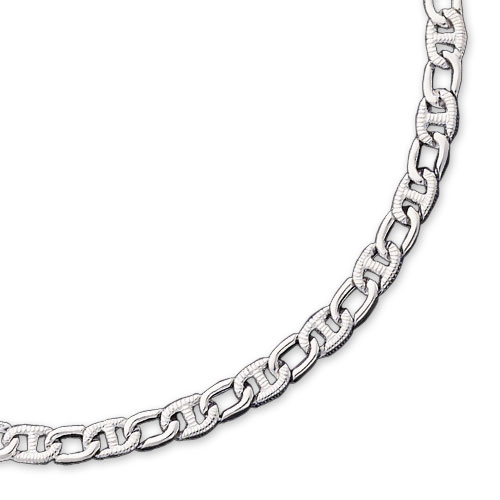 Sterling Silver 6.5mm Fancy Link Chain. Price: $316.94