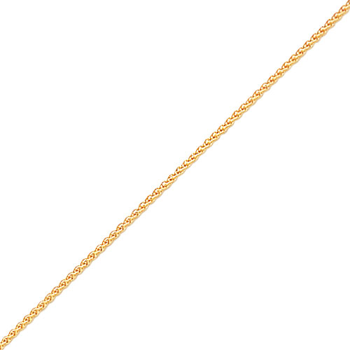 "14K Gold 1.75mm Spiga Anklet 9"". Price: $141.16"