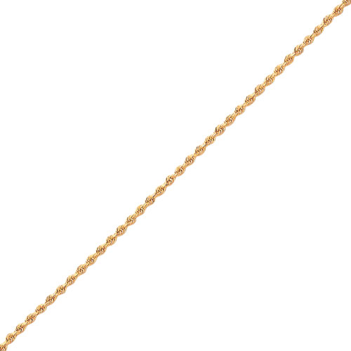 14K Gold 3.0mm Diamond-Cut Quadruple Rope Chain. Price: $596.65