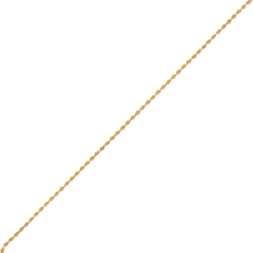 14K Gold 2.25mm Diamond-Cut Quadruple Rope Chain. Price: $305.20