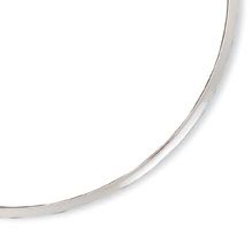 Sterling Silver Polished 3mm Neck Collar. Price: $58.62