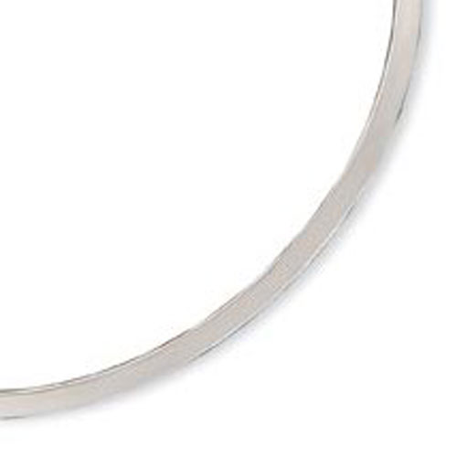 Sterling Silver Polished 4mm Neck Collar. Price: $72.36