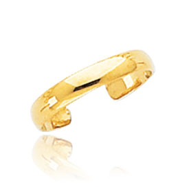 14K Gold High Polished Toe Ring. Price: $49.34