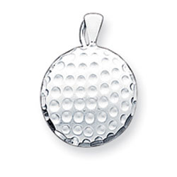 Sterling Silver Golf Ball Charm. Price: $30.99