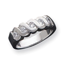 Sterling Silver CZ Ring. Price: $40.40