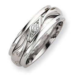 Sterling Silver Inner Channel Spinning Band. Price: $55.04