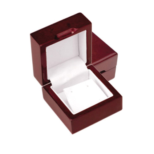 Cherry Wood Earrings Jewelry Box. Price: $13.50