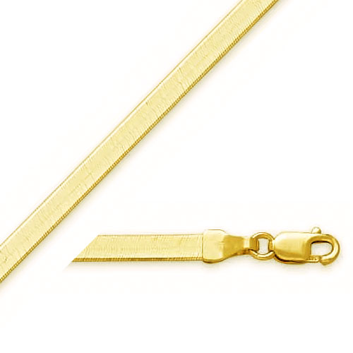 14K 3.0mm Herringbone Chain. Price: $372.84