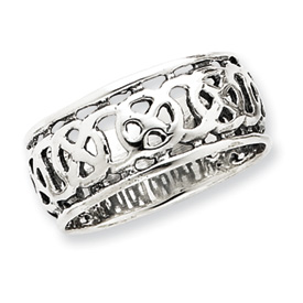 Sterling Silver Antiqued Band. Price: $25.92