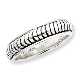 Sterling Silver Antiqued Band. Price: $58.65