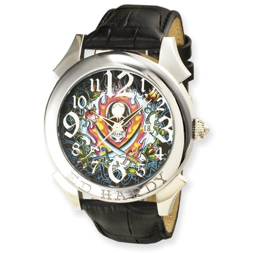 Mens Ed Hardy Revolution Black Watch. Price: $210.00