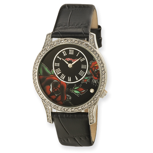 Ladies Ed Hardy Antoinette Black Watch. Price: $118.14