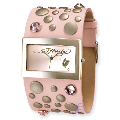 Ladies Ed Hardy Love Child Pink Watch. Price: $133.88