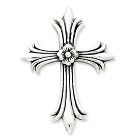 Sterling Silver Antiqued Cross Pendant. Price: $50.26